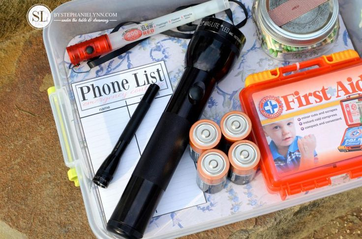 Winter Storm Emergency Kit