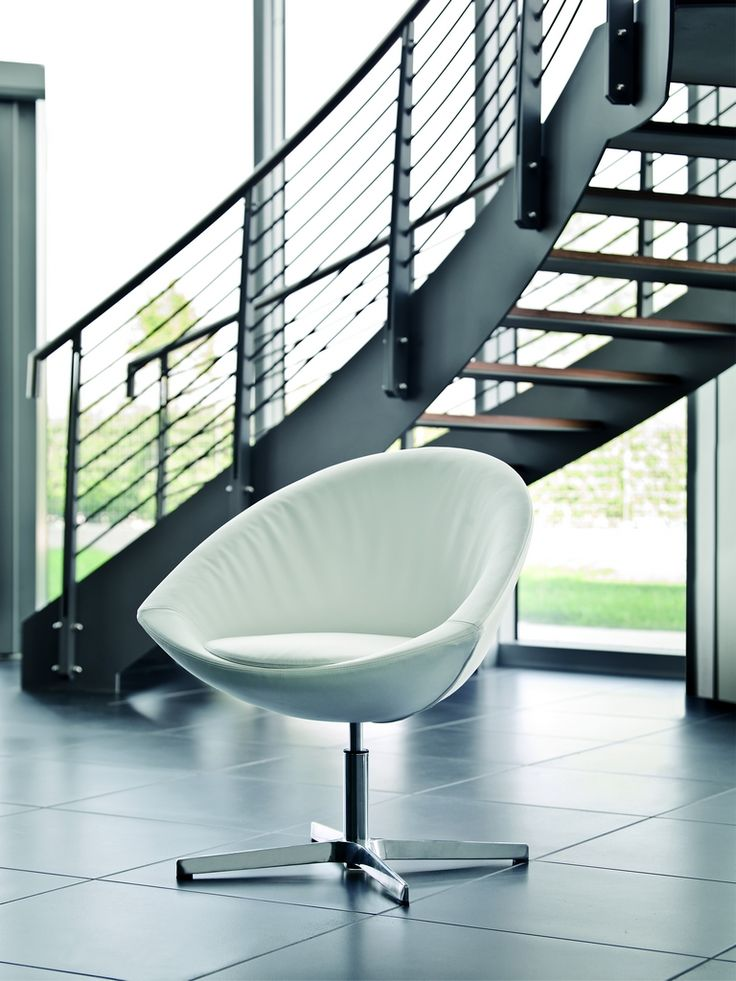 Agio lounge chair. Shell padded with injection molded foam