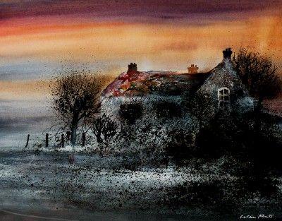 British Artist Colin KENT - Mellow Evening
