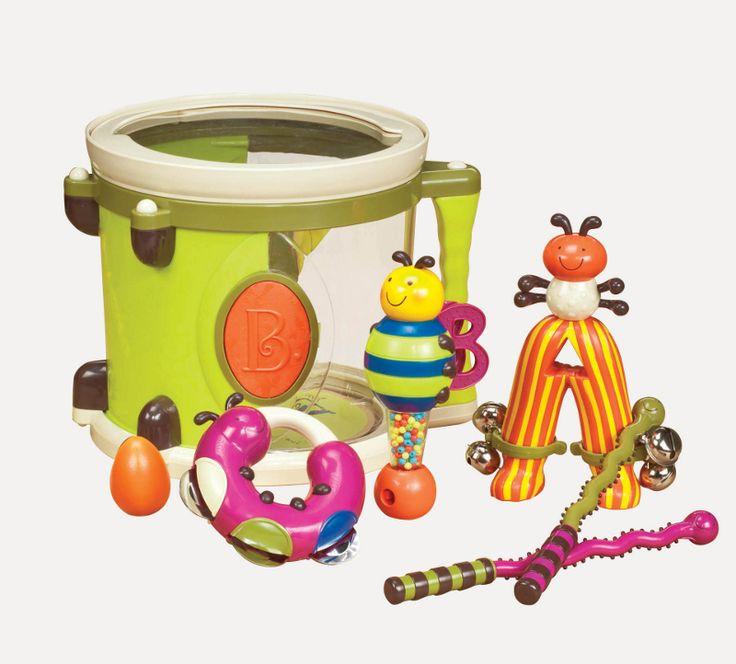 Tublu.pl: Bębenek z instrumentami - Parum Pum Pum B. Toys