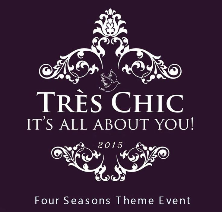 Tres Chic fashion event - sponsor