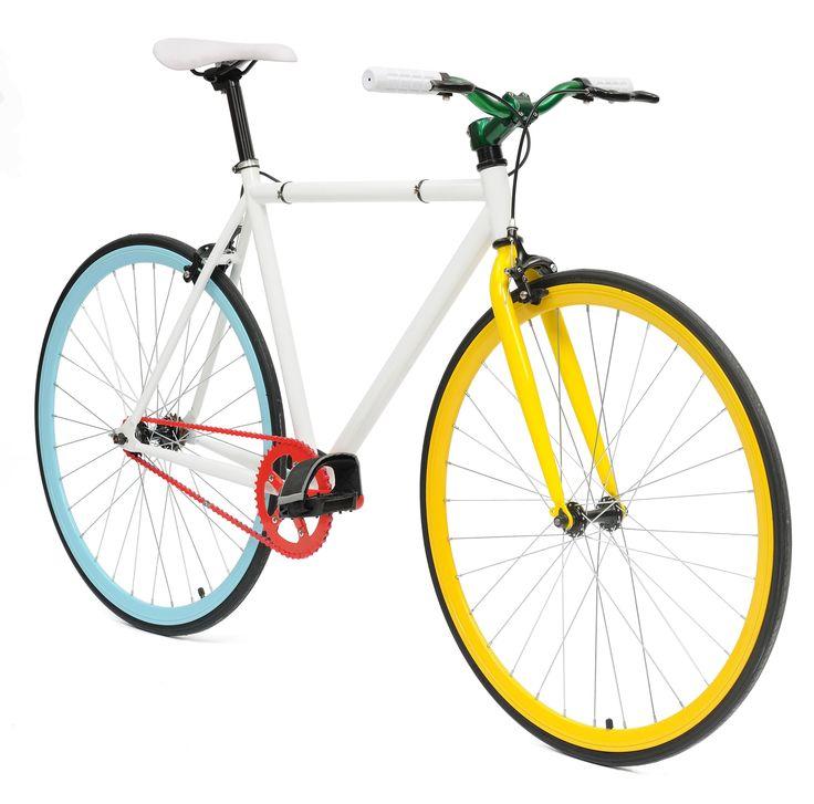 De NO NAME PARROT STREETBIKE fixed gear is een sportieve en zeer moderne fixed gear fiets voor het alledaags gebruik. Of u nou op weg bent naar het werk of naar de winkel deze NO NAME PARROT STREETBIKE fixed gear brengt u snel overal heen. De NO NAME PARROT STREETBIKE fixed gear is zeer licht en gemaakt en uitermate geschikt voor vervanging van vervoer in de stad. Al met al de single speed fiets of fixed gear fiets die bij u past. In vele kleuren beschikbaar.single speed/fixed ...