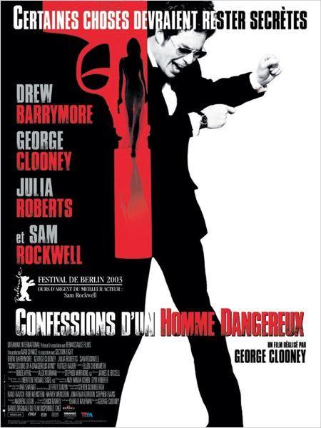 Confessions d'un homme dangereux : affiche