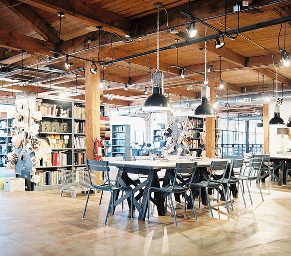 Chicago Office Of Nate Berkus Associates, Via Lonny Mag.