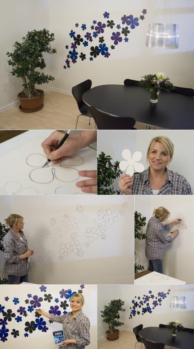 160 best decoracion de paredes images on pinterest home - Como decorar la casa ...