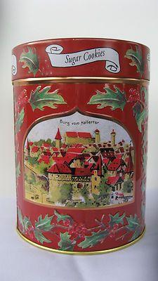 $9.99 Wonderful Lambertz AACHEN 2003 Sugar Cookies Musical Tin