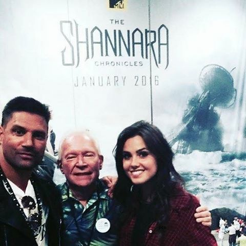 """Poppy Drayton (@poppy_drayton) on Instagram: """"it's been around a year since The Shannara Chronicles came out!"""""""