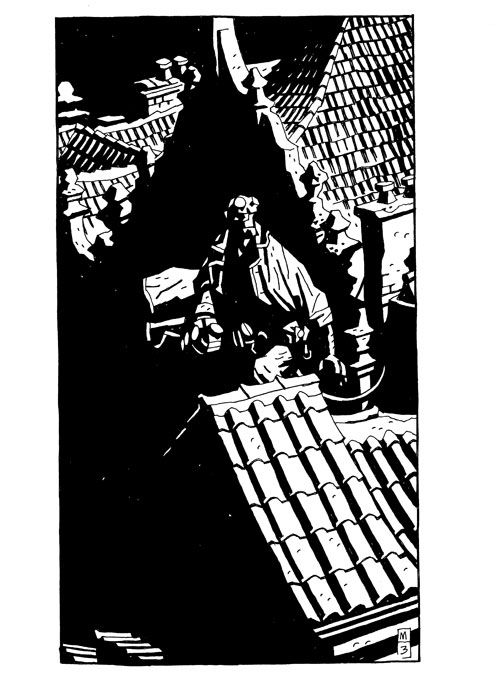 Mike Mignola | Hellboy in Prague