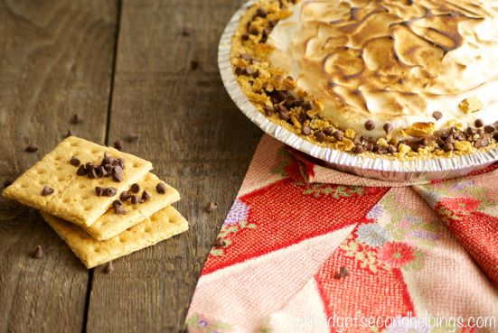 Gimme S'more Pie! | Our Lady of Second Helpings | {Recipes} Our Lady ...