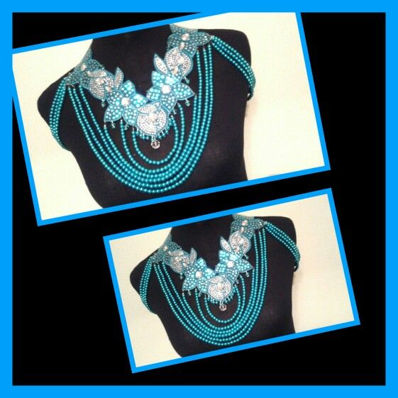 Floral Body Necklace