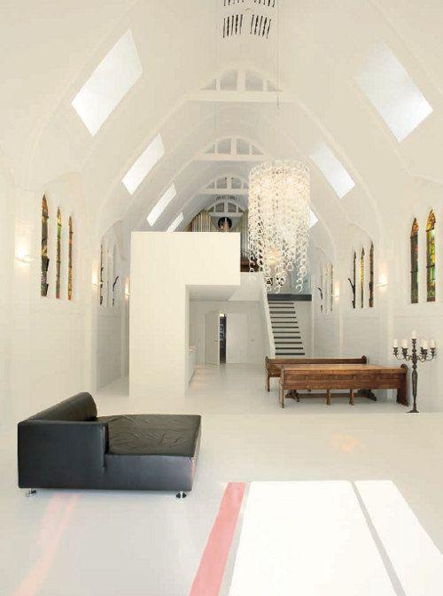 Church Conversion In Utrecht By Dutch Architectural Firm Zecc