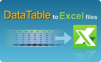You need a hint on how to export DataTable to Excel file in C# and VB.NET? EasyXLS Excel library is your key!