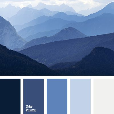 A fresh, calm palette created in one tonality of colors. Various shades of blue are able to vivify any room. Deep, pure blue in combination with light blue.