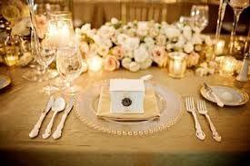 Znalezione obrazy dla zapytania wedding decorations  gold