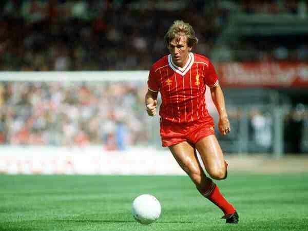 Kenny Dalglish of Liverpool in 1982.