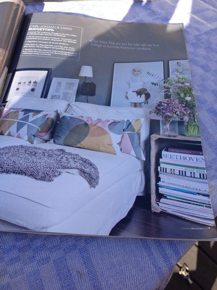 Sängbord Sovrum Pinterest