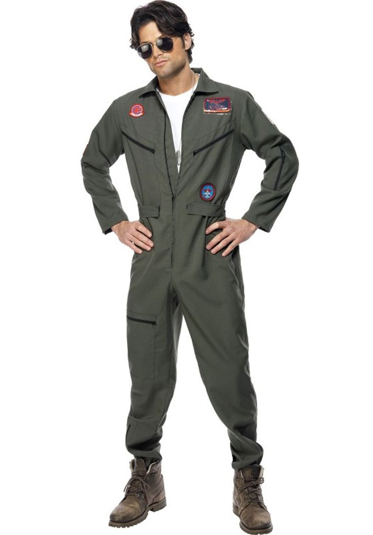 Top Gun Pilot Costume - Occupations Costumes at Escapade™ UK
