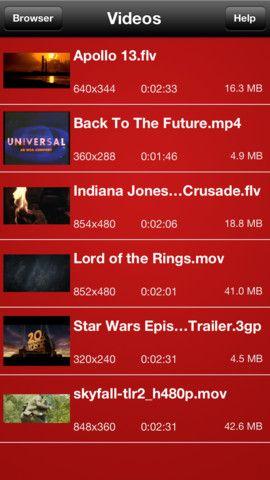 Flv Player, reproduce multitud de formatos de video diferentes | iPad Books