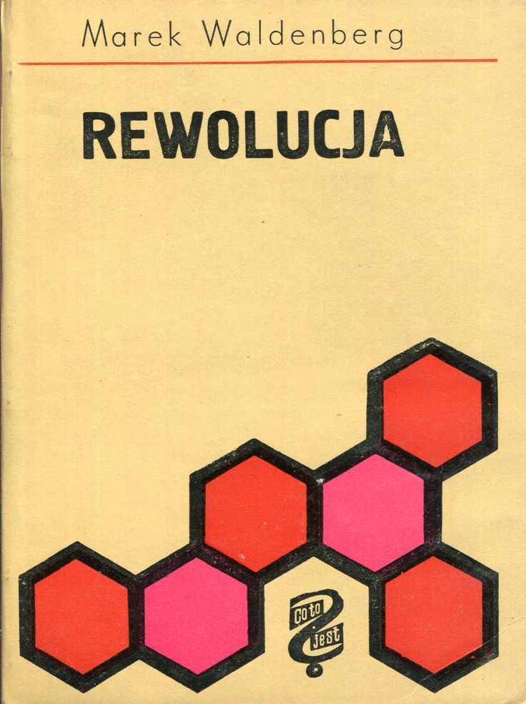"""""""Rewolucja"""" Marek Waldenberg Cover by Jan Hollender Book series Co to jest? Published by Wydawnictwo Iskry 1964"""