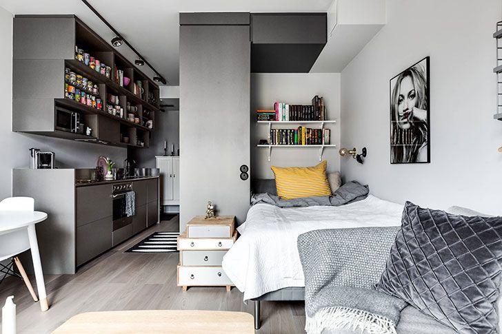 Compact Life On 30 Sqm Kvartira Dizajn Interera Interer