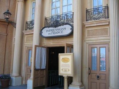 Epcot Center *France* Disney