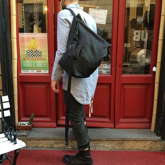 #shirt #dgnak #bag #rickowens #trousers #drkshdw #rickowens #shoes #marsell