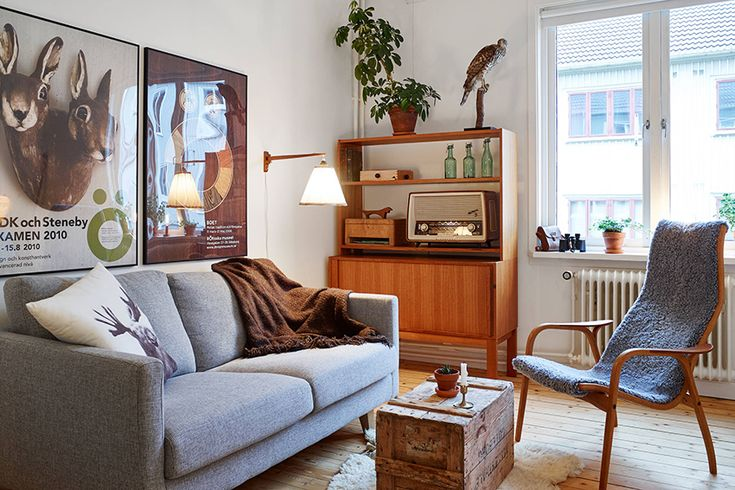 瑞典 11 坪北歐復古公寓 - DECOmyplace