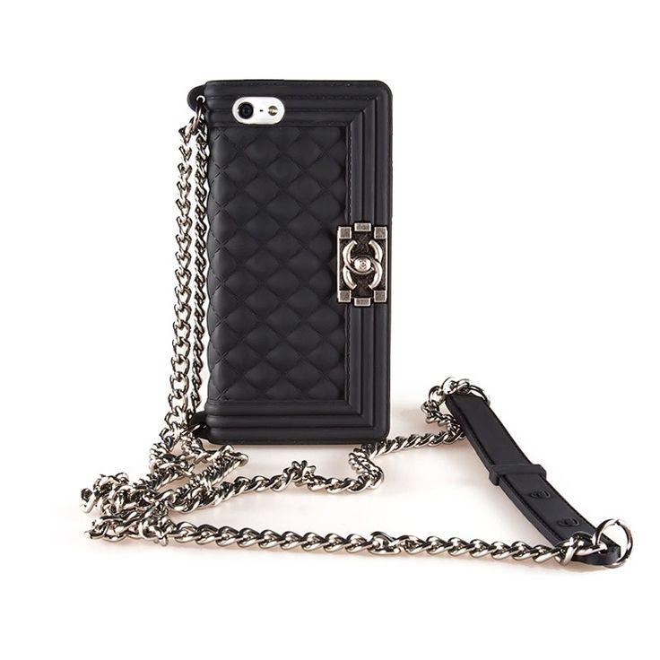 Kryt Chanel Boy pro iPhone 5/5s černý #AllCases.cz #kryt #case #iphone #iphone5 #iphone5s