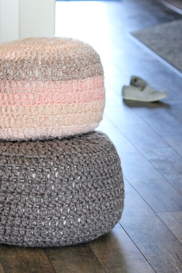 84 best images about pouf on pinterest free pattern yarns and crochet pouf pattern - Crochet pouf ottoman pattern free ...