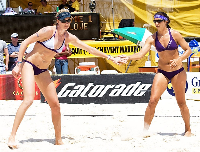 """Misty May-Treanor & Kerri Walsh: Beach Volleyball  0     Ages: May-Treanor: 35; Walsh: 33  Hometowns: May-Treanor: Costa Mesa, CA; Walsh: Santa Clara, CA  New additions: Since nabbing a second gold with May-Treanor (left) in 2008, Walsh gave birth to sons Joseph, 3, and Sundance, 2, with volleyball pro hubby Casey Jennings, 37. """"They're part of my team,"""" she says. """"I can't wait to see my boys in the stands!"""""""
