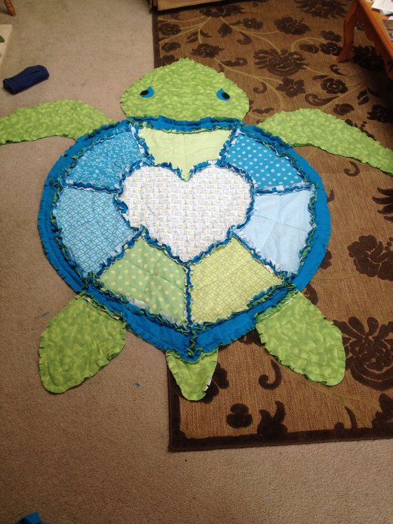779 best Quilts images on Pinterest | Stitching, At sign and Baby ... : turtle rag quilt - Adamdwight.com