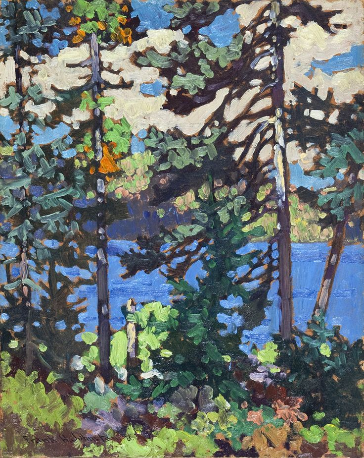 "Frank (Franz) Johnston - Canada / Group of Seven (1888 - 1949), Fall, Algoma, Oil on Panel 13.25"" x 10.5"""