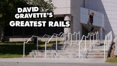 David Gravette's Greatest Rails - http://DAILYSKATETUBE.COM/david-gravettes-greatest-rails/ - http://www.youtube.com/watch?v=XK4obT25NOo&feature=youtube_gdata  The dude has jumped on some ridiculous rails in the last few years. Here's a collection of some of his greatest hits. Ride the Lightning! Keep up with Thrasher Magazine here: http://www.thrasherma... - david, Gravette's, greatest, rails