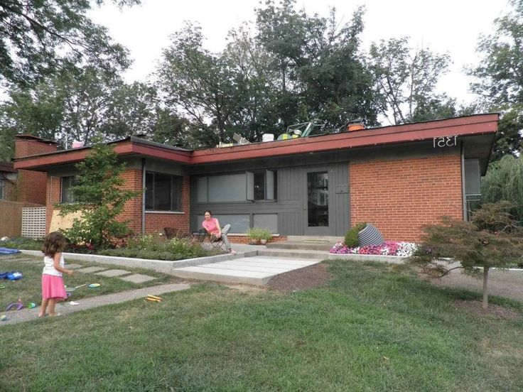 24 best Mid-Century Modern - Painting Exterior of our House images ...