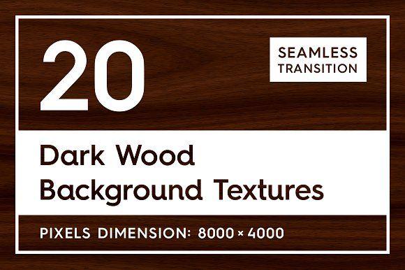 20 Dark Wood Background Textures by Textures & Overlays on @creativemarket