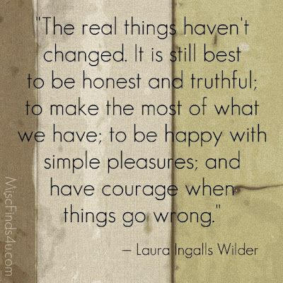 Find courage when things go wrong...