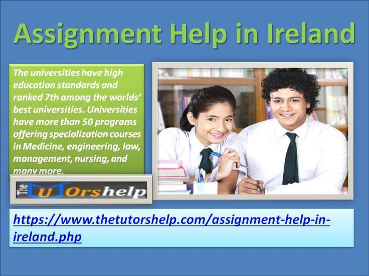 Homework Help Ireland | Assignment Help Ireland