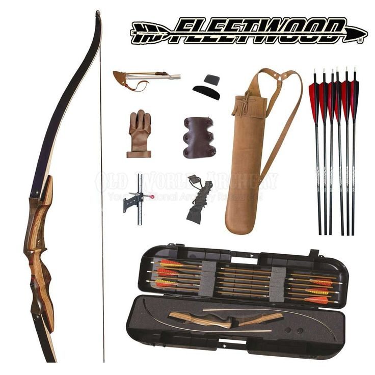 Fleetwood Archery Takedown Recurve Bow Pro Kit [fleetwood pro kit] - $299.95 : Old World Archery is your one stop shop for all your traditional archery needs!, Your Traditional Archery Resource!