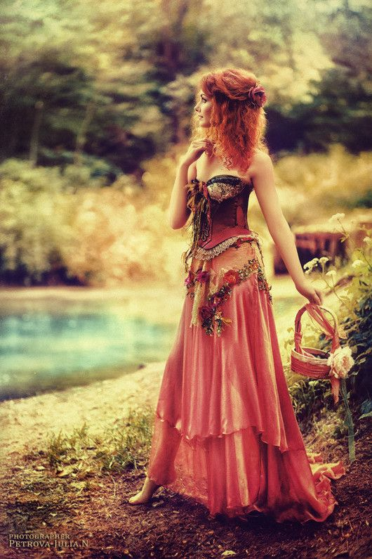Margarita - Petrova Julian photographer, forest maiden, fantasy, medieval