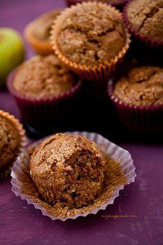 Muffiny dyniowe z jabłkiem i cynamonem