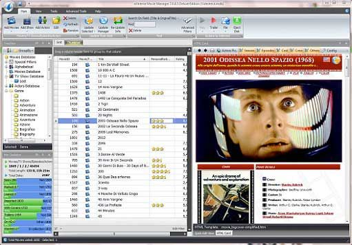 EXtreme Movie Manager is a powerful database of movie, with your collection by allowing you to enter the data manually or call for details of the Internet to organize. Besides the fact that it works with most common video formats on the market, such as DivX, XviD, VHS, DVD, VCD, S-VHS or DVD-R, eXtreme Movie Manager comes with dedicated tools for w
