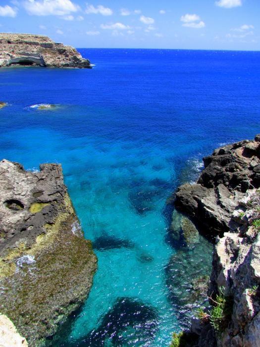 Lampedusa. Sicily.