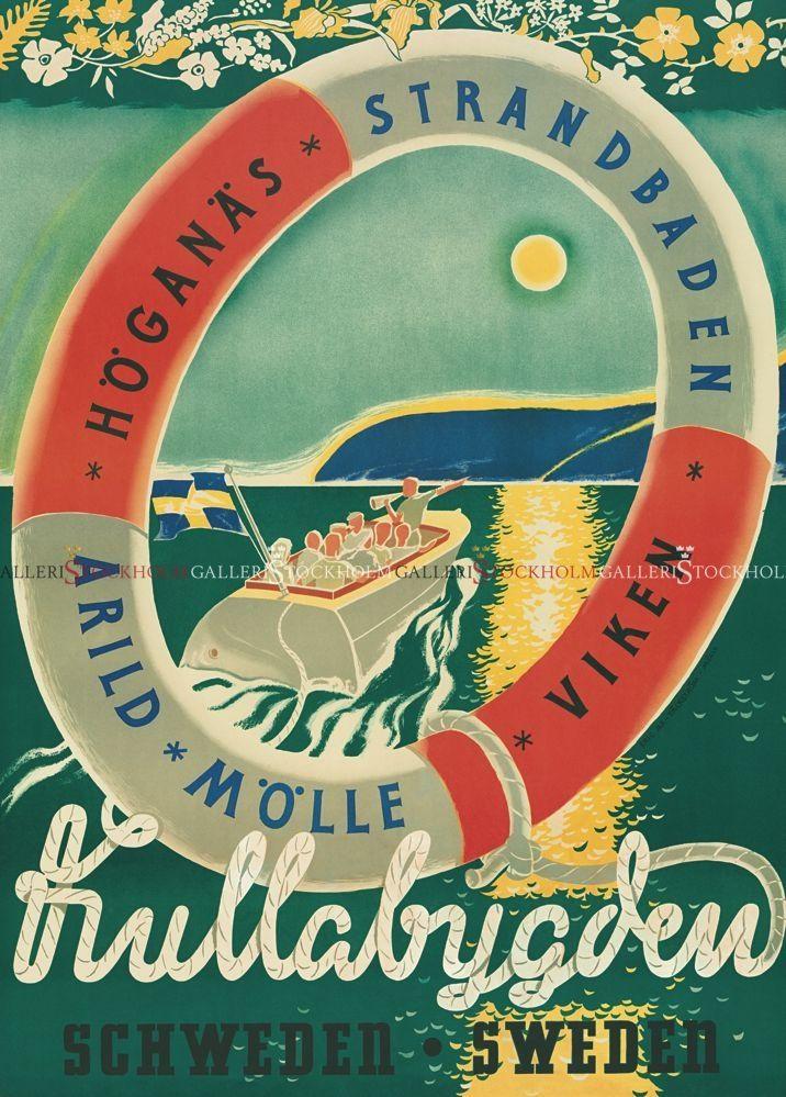 Erik Ax Tackström - Affischer Retro - Kullabygden