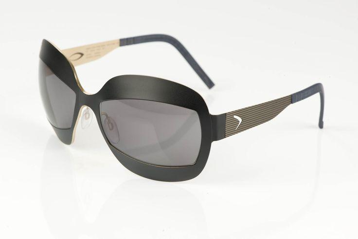 occhiali da sole Blackfin BF680 JULIE - collezione Arrigo CIPRIANI. Il titanio incontra l'oro 24 carati: un matrimonio ben riuscito e davvero prezioso!