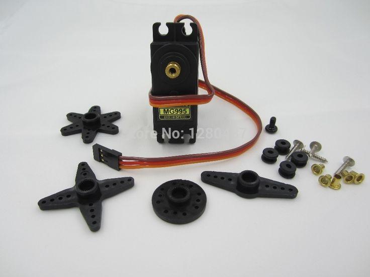 Бесплатная доставка 1 шт./лот MG995 55 г сервоприводы Digital Metal Gear rc car робот Servo MG945 MG946R MG996R