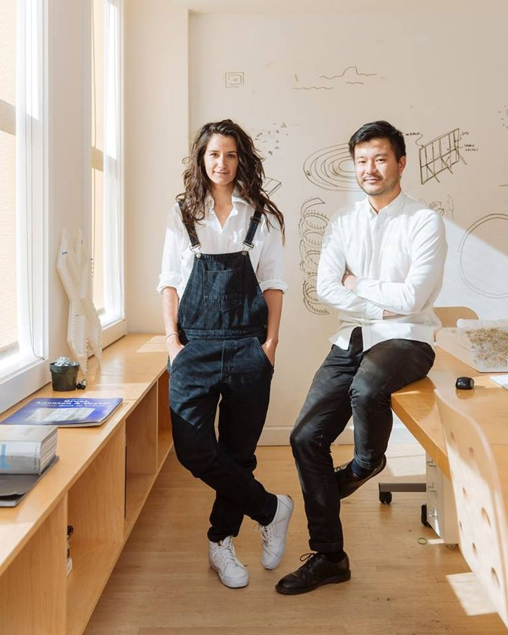 Oana Stanescu and Dong-Ping Wong, co-founders of Family New York, have designed everything from a volcano for Kanye West's 2013-2014 Yeezus tour to the uber-popular @PlusPoolNy, which raised over $300,000 on Kickstarter. Photo by Mark Wickens.