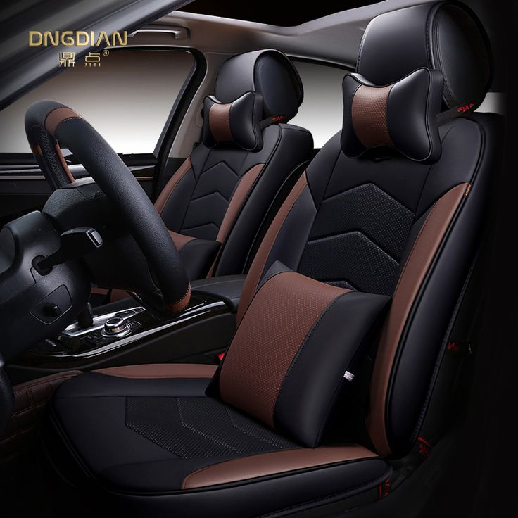 6D Styling Car Seat Cover For Honda Accord Civic CRV Crosstour Fit City HRV Vezel,High-fiber Leather,Car-Covers