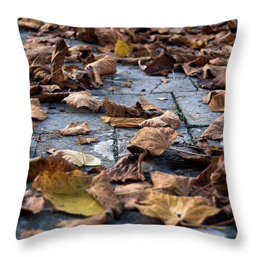 Cuscini - Foglie di autunno del cuscino di tiro da Orazio Puccio