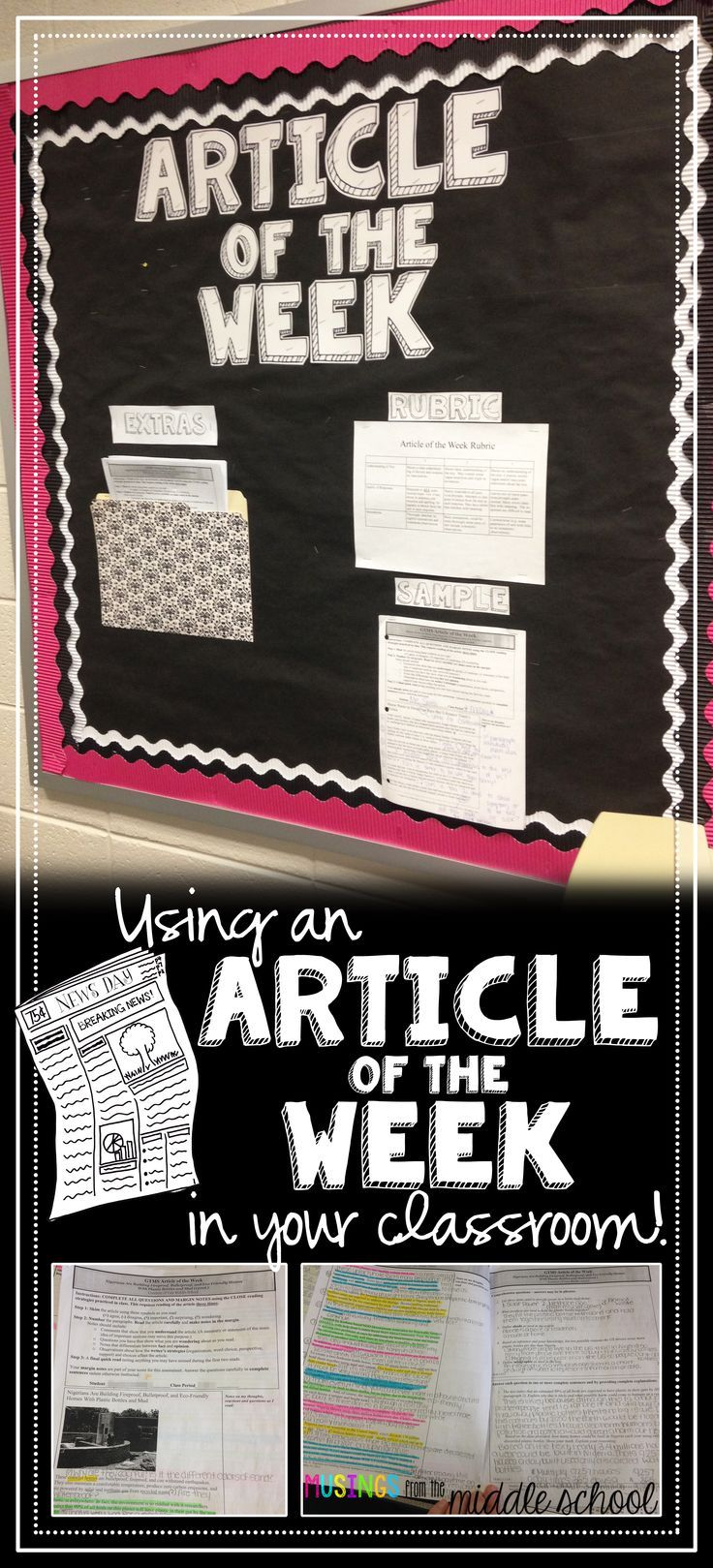 My new favorite homework: Articles of the Week!