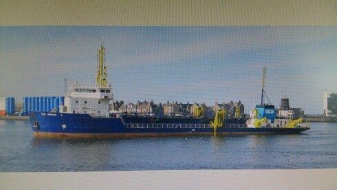 UKD Marlin, trailing suction dredger.